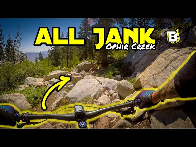 North Lake Tahoe's Chunky Adventure Ride - Ophir Creek - Tahoe Meadows, NV - Mountain Biking