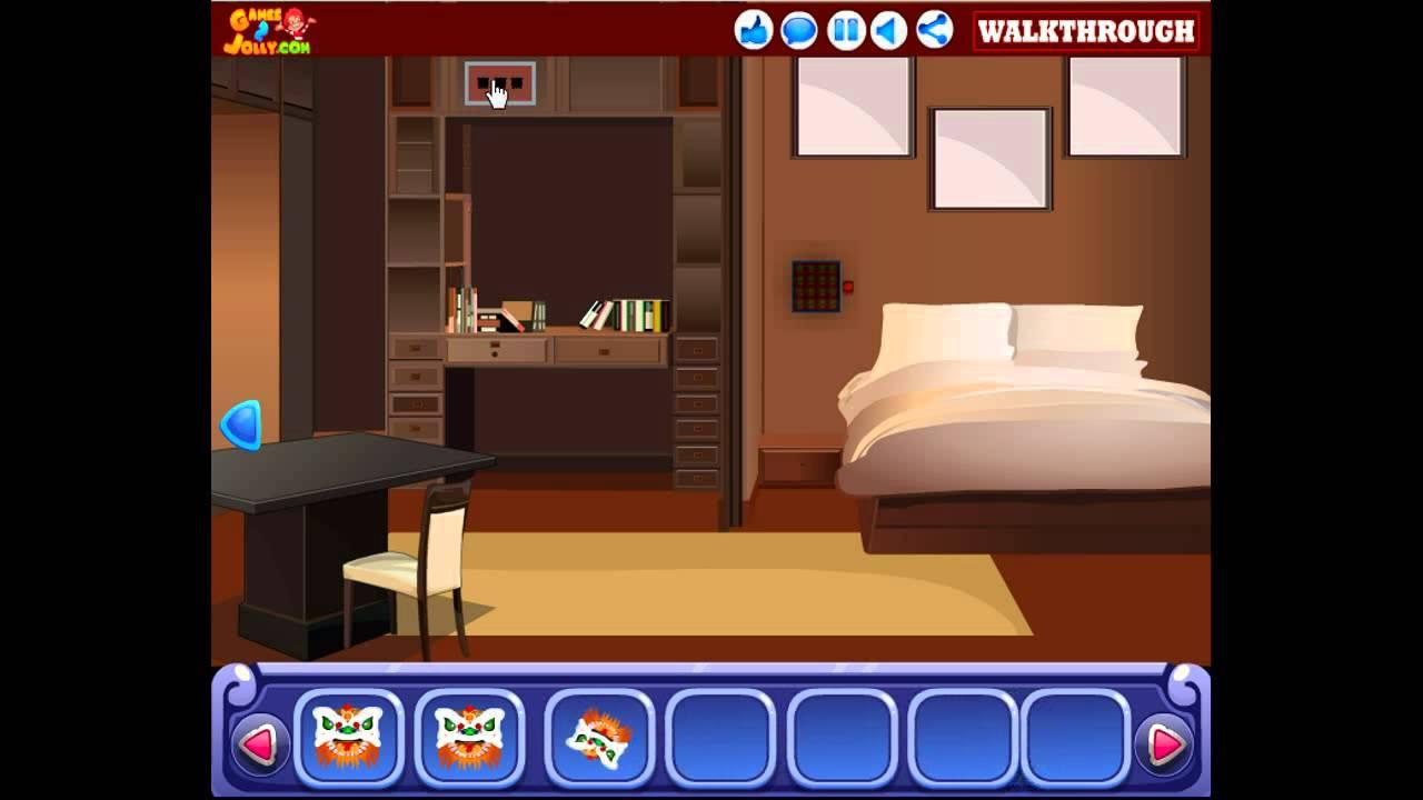 Games2jolly chief house escape walkthrough youtube for Minimalist house escape 2 walkthrough
