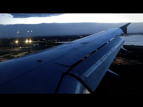 Post Sunset Landing on DAT Airbus A320 [OY-RUS] in Copenhagen Airport