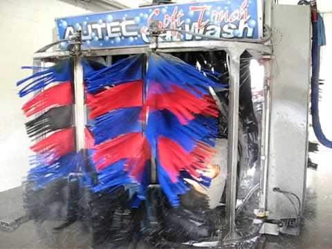 Soft Cloth Car Wash >> Autec Car Wash - kwik Shine Car wash Ephrata pa - YouTube