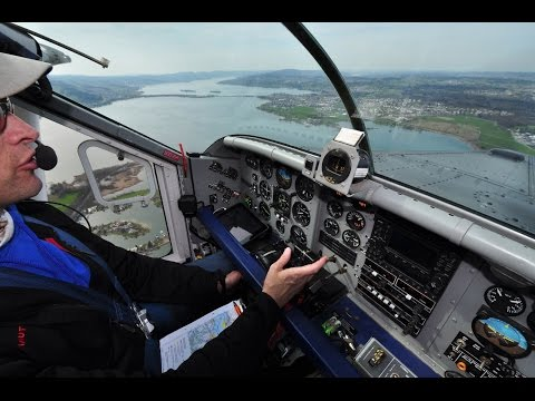PC-6 Turbo Porter - Pleasure Flight from Wangen-Lachen (LSPV) to Sitterdorf (LSZV), Sitzerland
