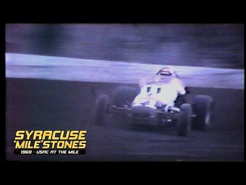 Syracuse 'Mile'stones: 1969 | USAC at The Mile