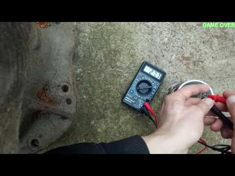 как поверить термистор (датчик температуры воды)