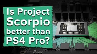 Is Project Scorpio better than the PS4 Pro?