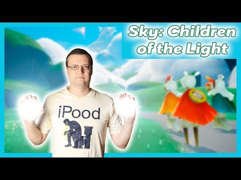 SKY CHILDREN OF THE LIGHT [Обзор] Лучшая релакс игра Небо Дети Света для IOS