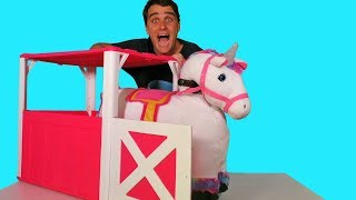 Willow the Electric Ride On Unicorn ! || Toy Review || Konas2002