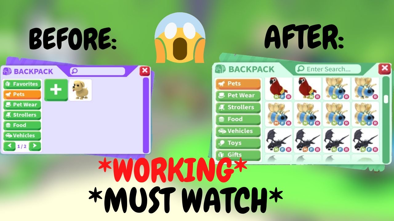 *MUST WATCH* HOW TO GET A RICH INVENTORY IN ADOPT ME!!!! + RIDE POTIONS GIVEAWAY- ROBLOX