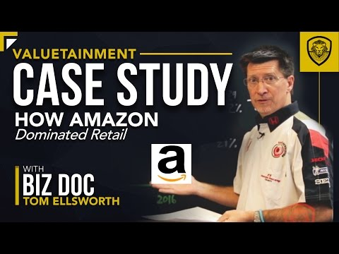 How Amazon Dominated Retail - A Case Study for Entrepreneurs