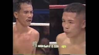 WBA世界ミニマム級暫定王座決定戦  ジョマガンボアVS安倍悟
