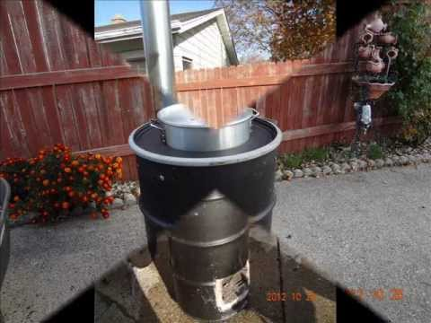 Rocket Stove Grill Youtube