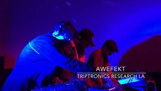 Awefekt Live at Triptronics Research LA