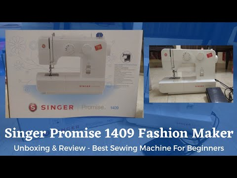 Singer FM Promise 1409 Sewing Machine Unboxing Video, Initial Review