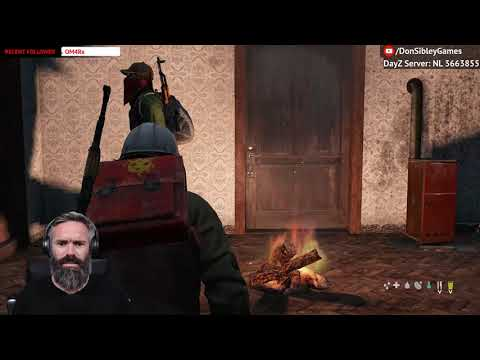 DayZ | Xbox | Starting a fire and cooking chicken