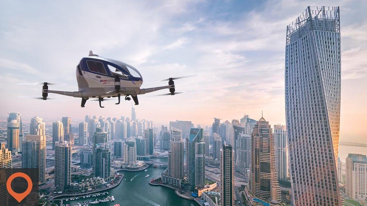Bye Uber Hello Flying Drone