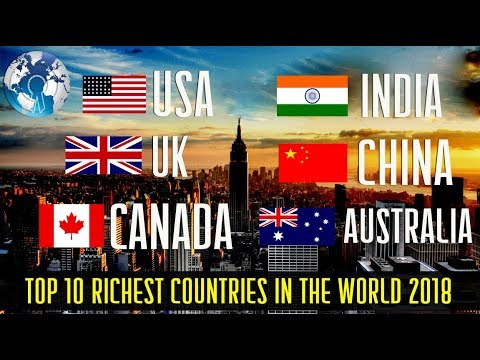 Why Cant Richest Country On Earth >> Top 10 Richest Countries In The World 2018 Youtube