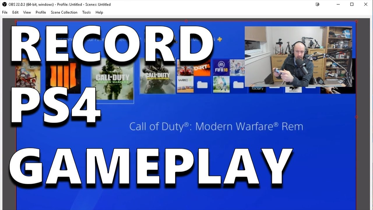 How to Record PS4 Gameplay with Remote Play & OBS