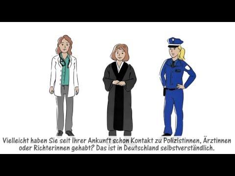 Einig sein. Recht achten. Freiheit leben. So funktioniert der deutsche Rechtsstaat. - Bayern