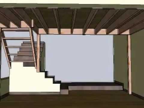 Dise o de interiores buhardilla en comedor habitacion elevada youtube - Buhardillas de diseno ...