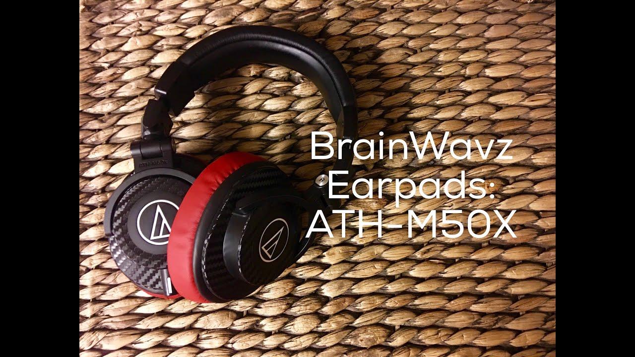 BrainWavz Earpads for ATH-M50X!