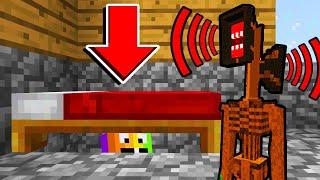 Minecraft : HIDING FROM SIRENHEAD!(Ps3/Xbox360/PS4/XboxOne/PE/MCPE)