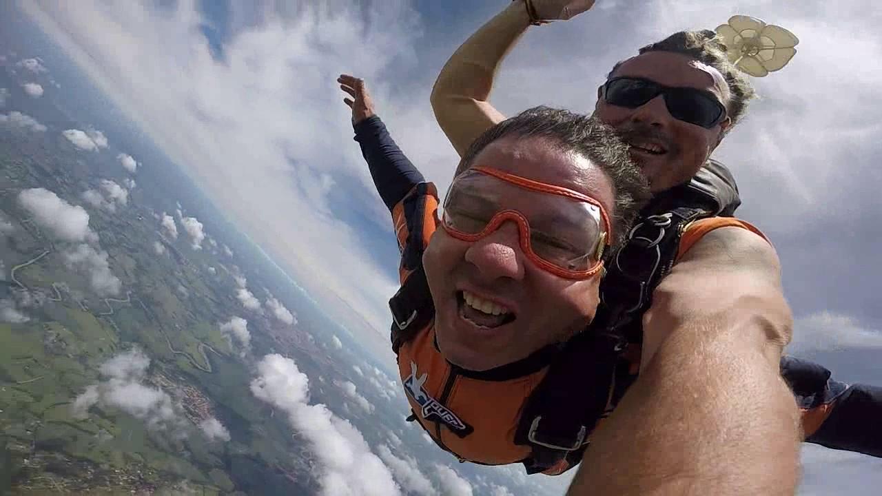 Salto de Paraquedas do José Ap na Queda Livre Paraquedismo 29 01 2017