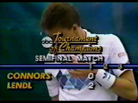 Forest Hills 1984 SF - Lendl vs Connors
