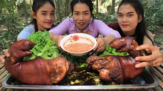How to cook pork legs curry with chili sauce recipe - Cooking skill