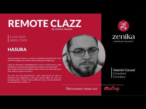 RemoteClazz : Hasura