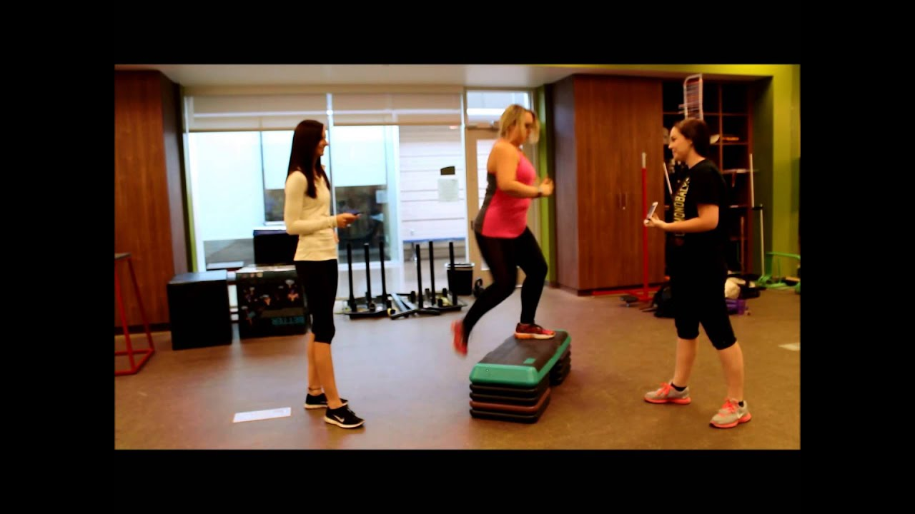 Ymca Step Test Instructional Video
