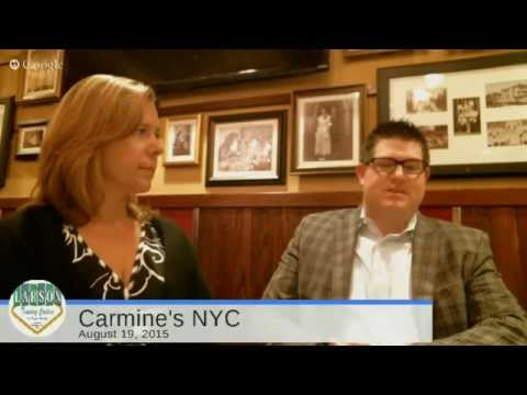 Ciao Tutti talks with Carmine's NYC at the Forum Shops