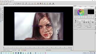 Aurora 3D 사각상자 글자 영상 제작 강좌