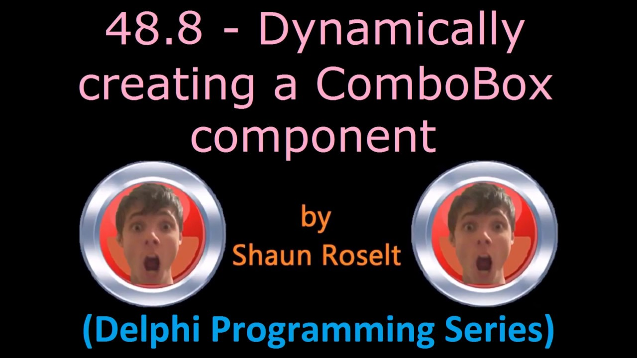 delphi radiogroup add point 2006 yamaha raptor 700r wiring diagram programming series 48 8 dynamically creating a combobox component