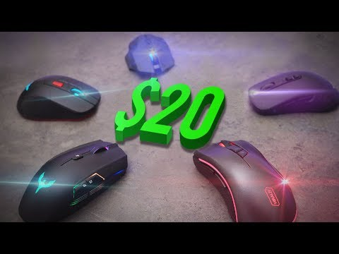 Top 5 Best Gaming Mice Under $20 - 2017