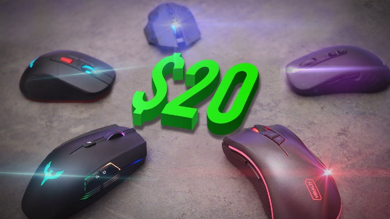 gaming mice under 20 dollars