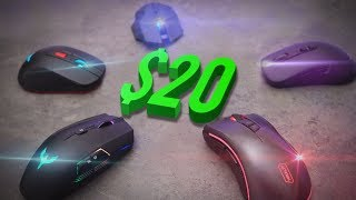 Top 5 Best Gaming Mice Under $20 - 2017