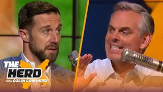 Alex Smith details his injury recovery & return to NFL, Mahomes & Rodgers | NFL | THE HERD