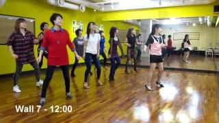 Boogie Bang Bang (by Eun Mi, Korea) - Line Dance (Demo & Walk Thru)