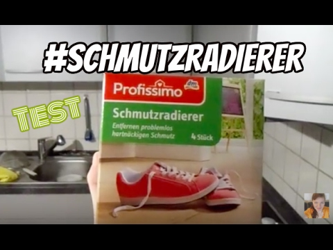 test profissimo dm schmutzradierer youtube. Black Bedroom Furniture Sets. Home Design Ideas