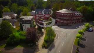 Vidéo aérienne par drone d'un Hôtel de luxe