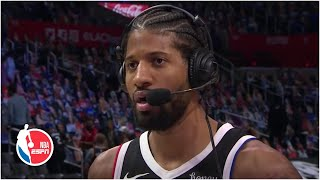 Paul George on Clippers' Game 3 win - 'The Jazz lit a fire under us after Game 2'   NBA on ESPN