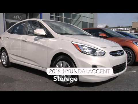 2016 Hyundai Accent SE, Athens, GA - Interior Space & Storage for sale at Hyundai of Athens, GA