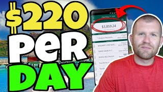 Earn $220 Per Day (Best Autopilot Traffic Method - Make Money Online 2020)