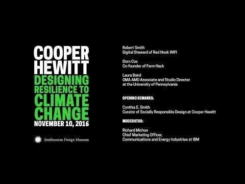 Designing Resilience to Climate Change