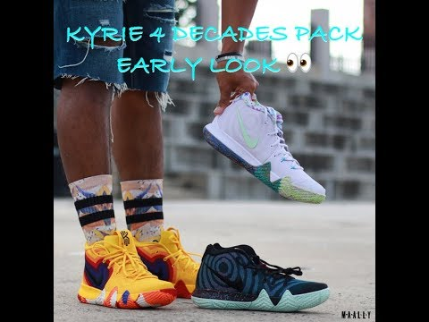 the latest e7341 e33c8 Kyrie 4 Decades Pack EARLY LOOK