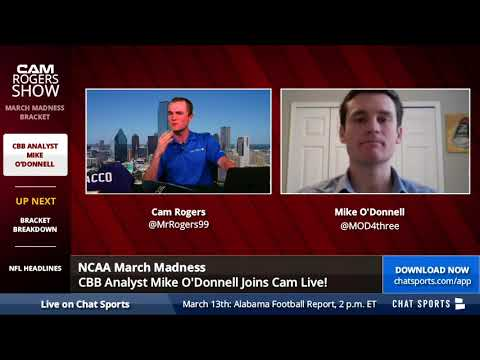 ESPN & CBS Analyst Mike O'Donnell Breaks Down The 2018 March Madness Bracket