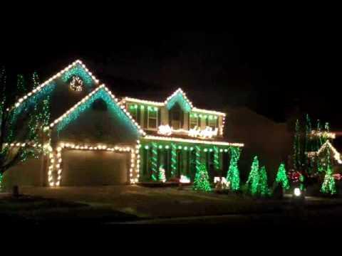 Christmas Light Synchronization (O'Fallon, MO) - YouTube