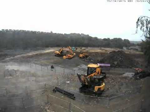 Kirklees College New Engineering Centre - Timelapse Progress October 2011