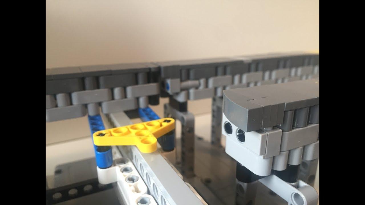LEGO Technic NEW 50 pcs WHITE GEAR RACK Mindstorms NXT Robotics Part Piece 3743