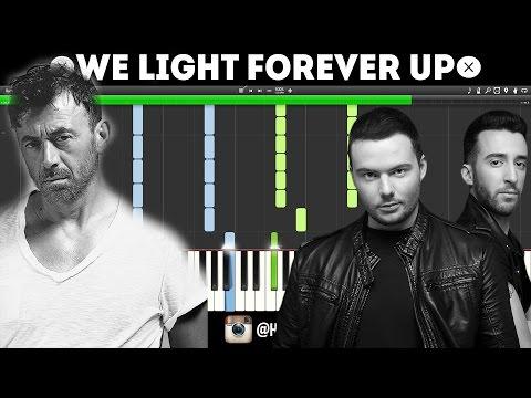 Benny Benassi X Lush & Simon - We Light Forever Up (TUTORIAL)