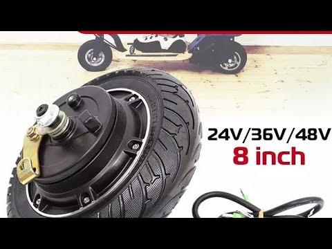 Мотор колесо с  Aliexpress для электросамоката | Будет как новенький